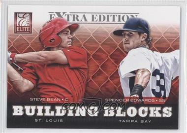 2012 Elite Extra Edition - Building Blocks Dual #4 - Spencer Edwards, Steve Bean