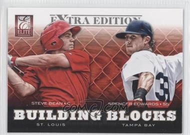 2012 Elite Extra Edition - Building Blocks Dual #4 - Spencer Edwards, Steve Bean