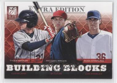 2012 Elite Extra Edition - Building Blocks Trio #2 - Tyler Naquin, Michael Wacha, Ross Stripling