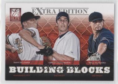 2012 Elite Extra Edition - Building Blocks Trio #5 - Drew VerHagen, Sam Selman, Will Clinard