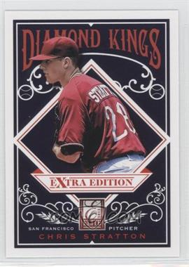 2012 Elite Extra Edition - Diamond Kings #DK-14 - Chris Stratton