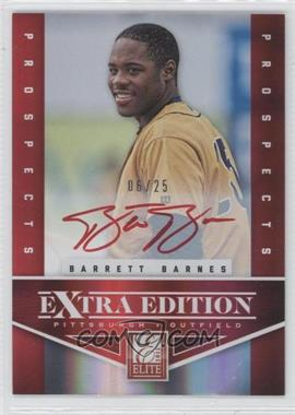 2012 Elite Extra Edition - Prospects Autographs - Red Ink [Autographed] #121 - Barrett Barnes /25