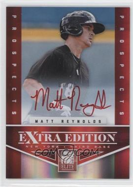 2012 Elite Extra Edition - Prospects Autographs - Red Ink [Autographed] #192 - Matt Reynolds /25
