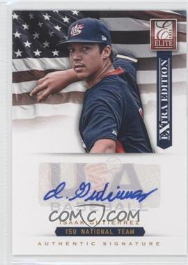 2012 Elite Extra Edition - USA Baseball 15U Team Signatures #10 - Isaak Gutierrez /125