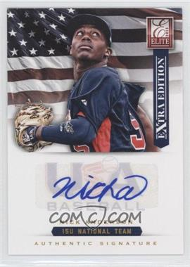 2012 Elite Extra Edition - USA Baseball 15U Team Signatures #2 - Nick Anderson /125