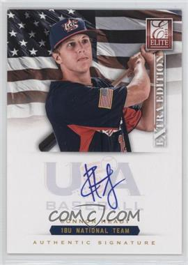2012 Elite Extra Edition - USA Baseball 18U Team Signatures #CH - Cody Hebner /299