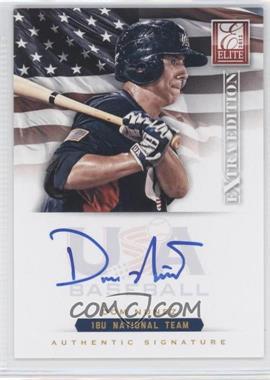 2012 Elite Extra Edition - USA Baseball 18U Team Signatures #DN - Dom Nunez /299