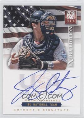 2012 Elite Extra Edition - USA Baseball 18U Team Signatures #JM - Jeremy Martinez /299