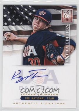 2012 Elite Extra Edition - USA Baseball 18U Team Signatures #KT - Keegan Thompson /299