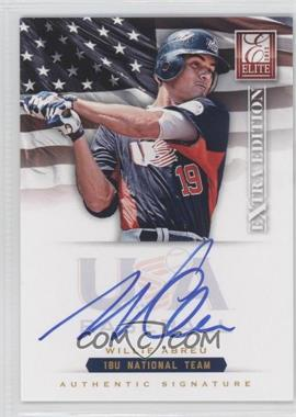 2012 Elite Extra Edition - USA Baseball 18U Team Signatures #WA - Willie Abreu /299