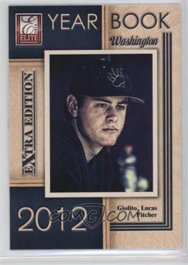 2012 Elite Extra Edition - Yearbook #14 - Lucas Giolito