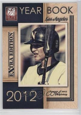 2012 Elite Extra Edition - Yearbook #19 - Corey Seager