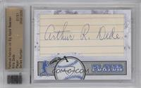 Artie Dede /1 [Cut Signature]