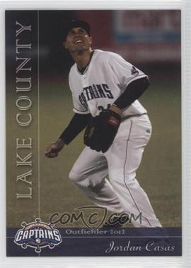 2012 Grandstand Lake County Captains - [Base] #24 - Jordan Casas