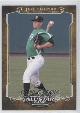 2012 Grandstand Midwest League All-Star Game - [Base] #N/A - Jake Floethe