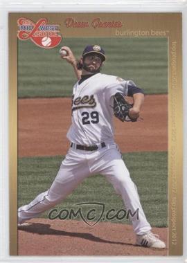 2012 Grandstand Midwest League Top Prospects - [Base] #DRGR - Drew Granier
