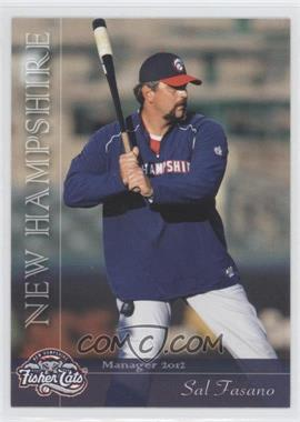 2012 Grandstand New Hampshire Fisher Cats - [Base] #SAFA - Sal Fasano