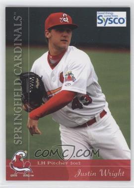 2012 Grandstand Springfield Cardinals - [Base] #43 - Justin Wright