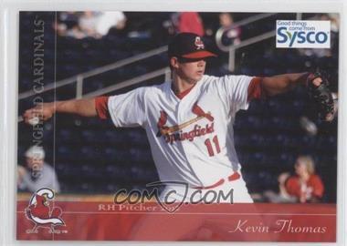 2012 Grandstand Sysco Springfield Cardinals - [Base] #11 - Kevin Thomas