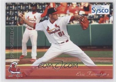 2012 Grandstand Sysco Springfield Cardinals - [Base] #51 - Eric Fornataro