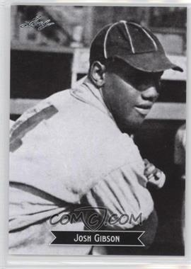 2012 Leaf - Sports Icons: The Search for Josh Gibson #2 - Josh Gibson