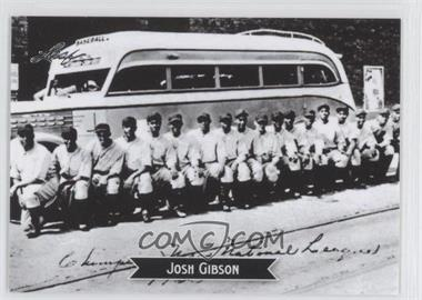2012 Leaf - Sports Icons: The Search for Josh Gibson #9 - Josh Gibson