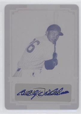 2012 Leaf Best of Baseball - [Base] - Printing Plate Magenta Autographs [Autographed] #BA-BW1 - Billy Williams /1