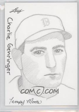 2012 Leaf Best of Baseball - Sketch #CGJP - Charlie Gehringer (Jay Pangan) /1