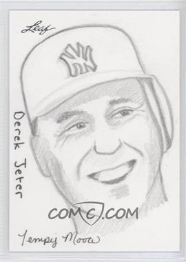 2012 Leaf Best of Baseball - Sketch #DJTM - Derek Jeter (Tempy Moore) /1
