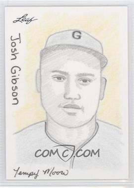 2012 Leaf Best of Baseball - Sketch #JOGI - Josh Gibson (Tempy Moore) /1