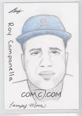 2012 Leaf Best of Baseball - Sketch #RCTM - Roy Campanella (Tempy Moore) /1