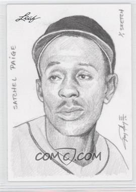 2012 Leaf Best of Baseball - Sketch #SPJP - Satchel Paige (Jay Pangan) /1