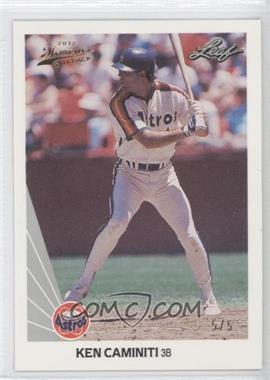 2012 Leaf Memories - 1990 Leaf Buy Back - Gold Foil #253 - Kevin Cash /5