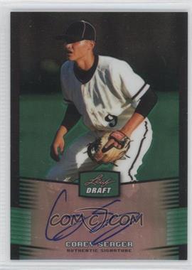 2012 Leaf Metal Draft - [Base] - Green #BA-CS1 - Corey Seager /10