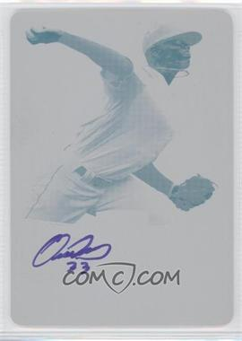 2012 Leaf Metal Draft - [Base] - Printing Plate Yellow #BA-FRI - Felipe Rivero /1
