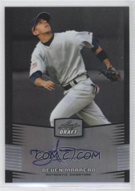 2012 Leaf Metal Draft - [Base] - Silver #BA-DM1 - Deven Marrero /99