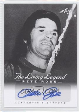 2012 Leaf Pete Rose The Living Legend - Autographs #AU-12 - Pete Rose