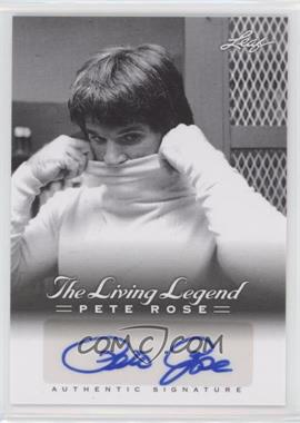 2012 Leaf Pete Rose The Living Legend - Autographs #AU-14 - Pete Rose