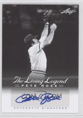 2012 Leaf Pete Rose The Living Legend - Autographs #AU-15 - Pete Rose