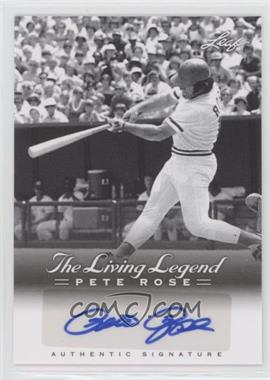 2012 Leaf Pete Rose The Living Legend - Autographs #AU-20 - Pete Rose