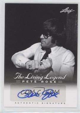 2012 Leaf Pete Rose The Living Legend - Autographs #AU-22 - Pete Rose