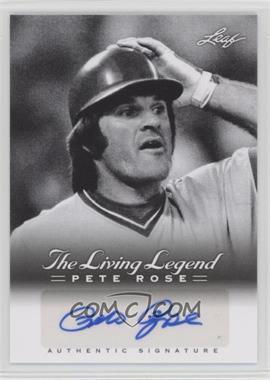 2012 Leaf Pete Rose The Living Legend - Autographs #AU-24 - Pete Rose
