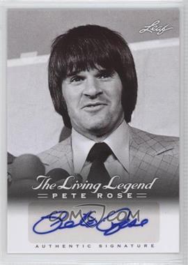 2012 Leaf Pete Rose The Living Legend - Autographs #AU-26 - Pete Rose