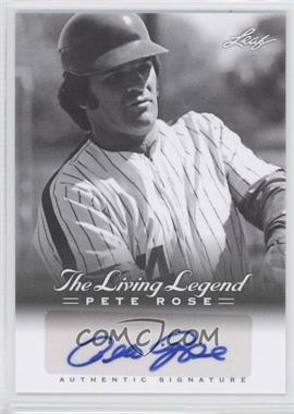 2012 Leaf Pete Rose The Living Legend - Autographs #AU-29 - Pete Rose