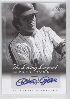 2012 Leaf Pete Rose The Living Legend - Autographs #AU-29 - Pete Rose