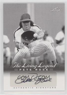 2012 Leaf Pete Rose The Living Legend - Autographs #AU-39 - Pete Rose