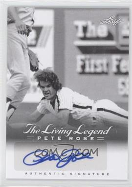 2012 Leaf Pete Rose The Living Legend - Autographs #AU-40 - Pete Rose