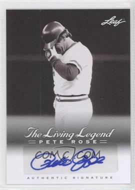 2012 Leaf Pete Rose The Living Legend - Autographs #AU-48 - Pete Rose