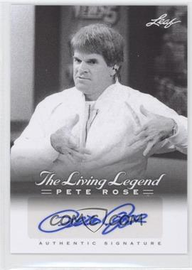 2012 Leaf Pete Rose The Living Legend - Autographs #AU-49 - Pete Rose
