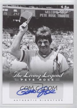 2012 Leaf Pete Rose The Living Legend - Autographs #AU-50 - Pete Rose
